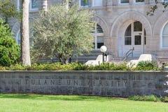 La Nouvelle-Orléans, LA/USA - vers en mars 2009 : Tulane University à la Nouvelle-Orléans, Louisiane Image stock