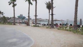 La nouvelle plage et le divertissement espacent la vidéo de longueur d'actions de Mer de La banque de vidéos