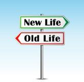 La nouvelle vie Photos stock