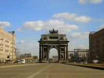 La nouvelle voûte triomphale à Moscou photos stock
