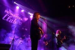 La novela corta congriega en concierto en el festival 2015 del club de Primavera foto de archivo