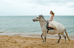 La novia Fotos de archivo libres de regalías