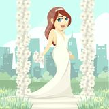 La novia de Beautyful Imagen de archivo