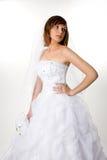 La novia está esperando Foto de archivo libre de regalías