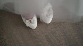 La novia puso los zapatos almacen de video