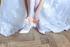 La novia que pone en la liga imagen de archivo