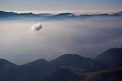 La nube Fotografía de archivo libre de regalías