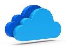 La nube Imagen de archivo
