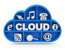 La nube Imagenes de archivo