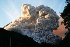 La nube caliente Fotografía de archivo