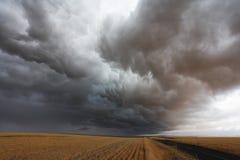 La nube di tempesta fotografie stock libere da diritti