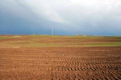 La nube di tempesta sta venendo Fotografie Stock
