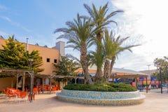 La Nucia, Spain, February 16, 2018: Sport center Ciutat Esportiva Camilo Cano in La Nucia, Spain. Outstanding sport center with lot of facilities and different Stock Photos