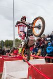 Toni Bou at Spanish National Trial Championship Stock Photos