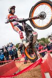 Toni Bou at Spanish National Trial Championship Royalty Free Stock Photo