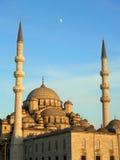 La nueva mezquita en Estambul Imagen de archivo