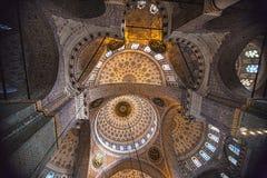 La nueva mezquita en Estambul, Turquía fotografía de archivo