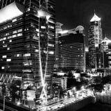 La nuit Photographie stock