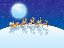 La nuit avant Noël Images stock