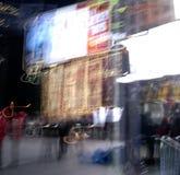 La nuit de la Times Square Images libres de droits