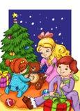La nuit de Noël Photo libre de droits