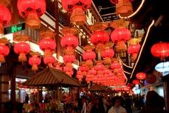 La nuit du festival de lanterne Image libre de droits
