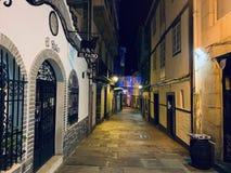 La nuit espagnole peut être différente images stock