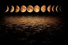 La nuit a mille yeux, ou Photographie stock