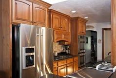 La nuova cucina moderna ritocca Fotografie Stock