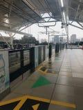 La nuova e stazione moderna di MRT a Jakarta fotografia stock