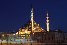 La nuova moschea a Costantinopoli Fotografie Stock