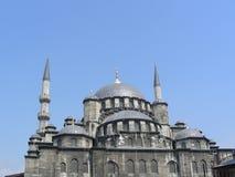 La nuova moschea (di Yeni) a Costantinopoli Immagine Stock