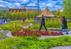 La nuova Olanda è un'isola nel distretto di Admiralteysky del pe della st Fotografie Stock