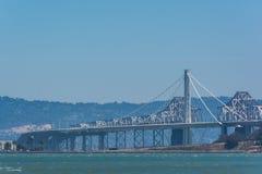 La nuova portata orientale del ponte della baia, San Francisco immagine stock