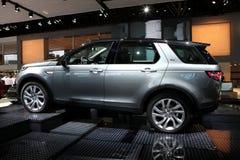 La nuova terra Rover Discovery Immagini Stock