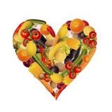 La nutrizione sana è importante Fotografia Stock Libera da Diritti