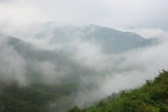 La nuvola e la foschia Immagini Stock