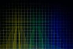 La oblea de silicio 3d rinde Fotografía de archivo libre de regalías