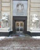 La oficina de correos Foto de archivo libre de regalías