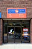 La oficina de correos canadiense Foto de archivo libre de regalías