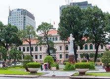 La oficina de correos central de Saigon, Vietnam Foto de archivo