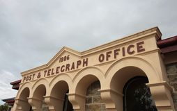 La oficina de correos de Ophir Imágenes de archivo libres de regalías