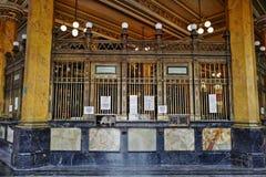 La oficina de correos en Ciudad de México, México Imagen de archivo libre de regalías