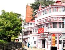 La oficina de correos general de Shimla, en la alameda Fotografía de archivo