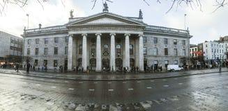 La oficina de correos general, Dublín, Irlanda imagen de archivo libre de regalías