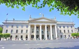 La oficina de correos general en Dublín Imágenes de archivo libres de regalías