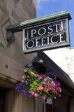 La oficina de correos pasada de moda Fotografía de archivo libre de regalías
