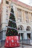 La oficina de correos de Perth en las Navidades Foto de archivo libre de regalías