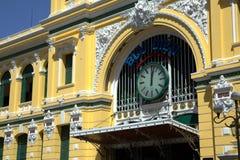 La oficina de correos vieja en Saigon Fotografía de archivo libre de regalías