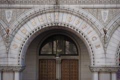 La oficina de correos Washington Imagen de archivo